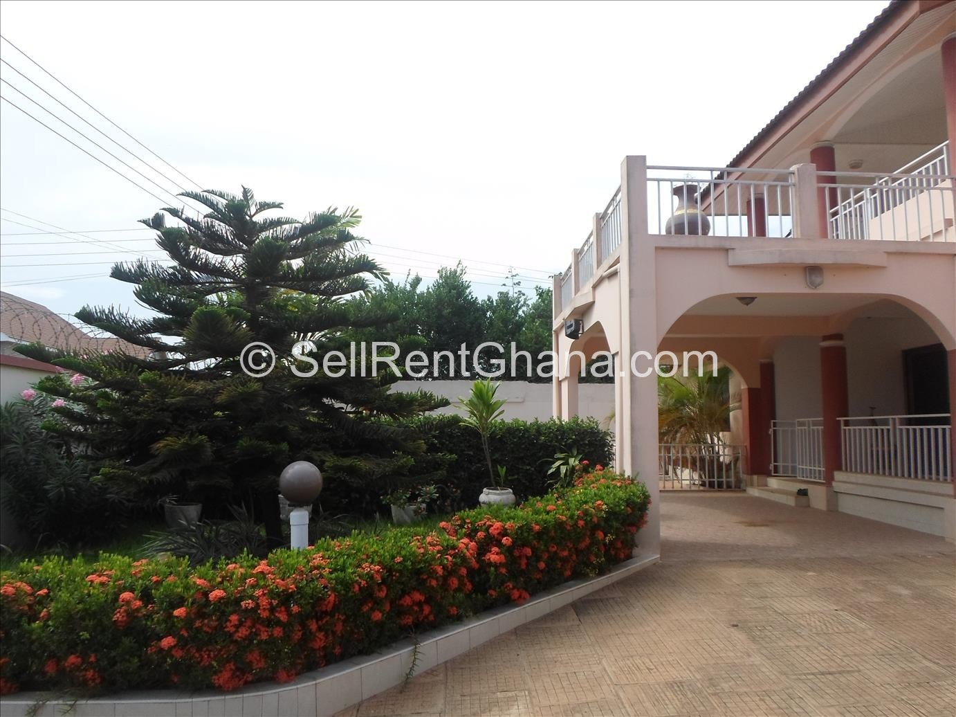 5 Bedroom House With Pool To Let East Legon Sellrent Ghana