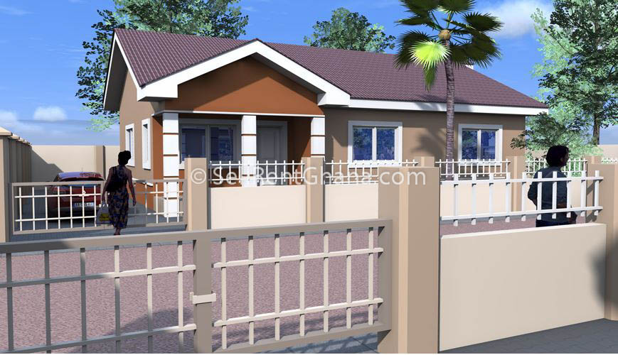 2 bedroom house for sale  tema