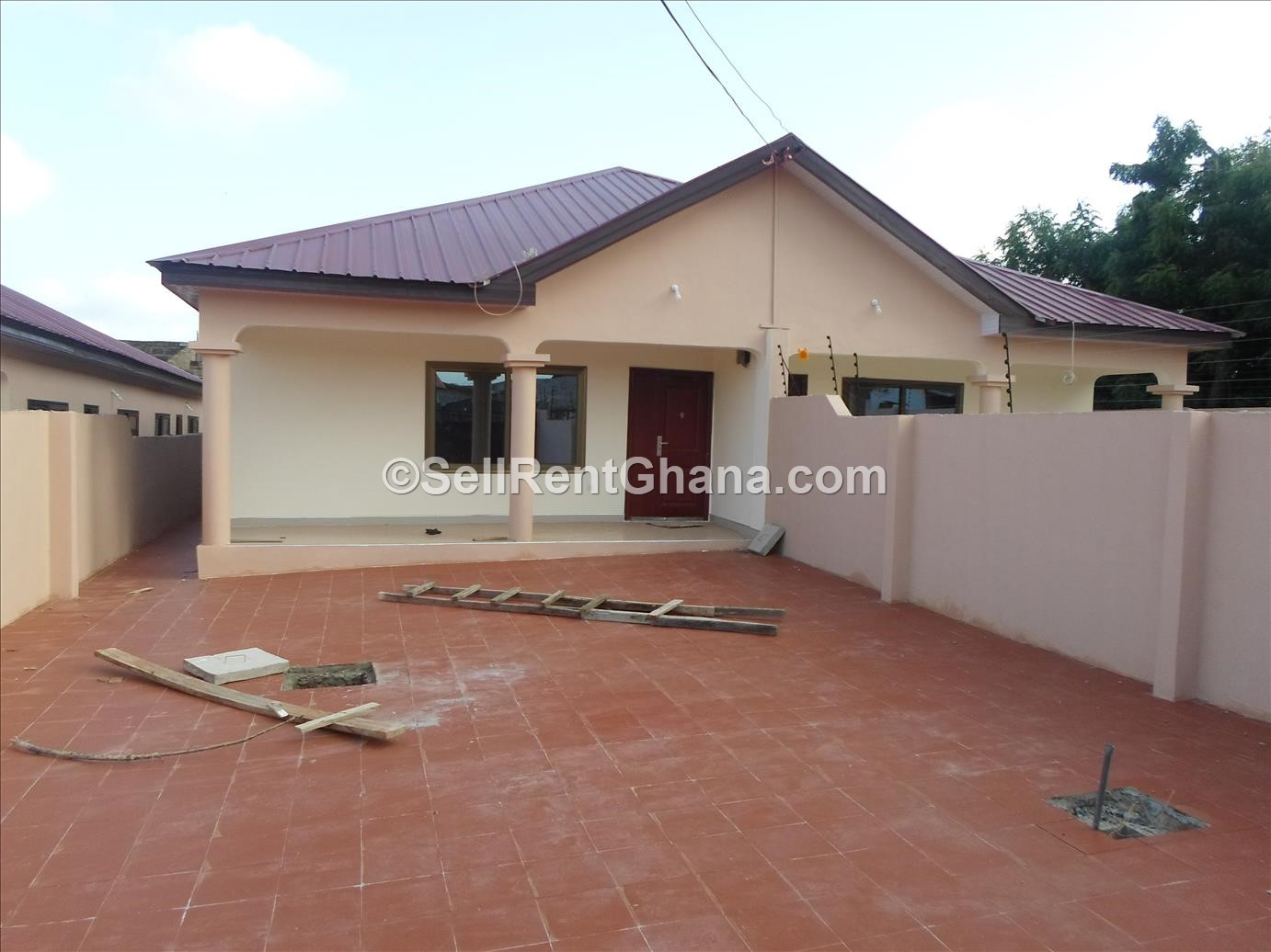 3 Amp 4 Bedroom Detach Amp Semi House Ashongman Sellrent Ghana