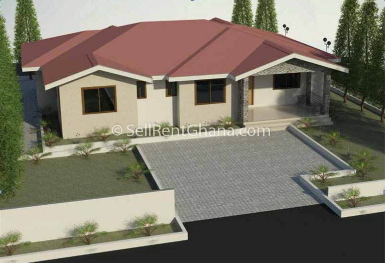 2 4 bedroom houses for sale prampram sellrent ghana for New four bedroom houses