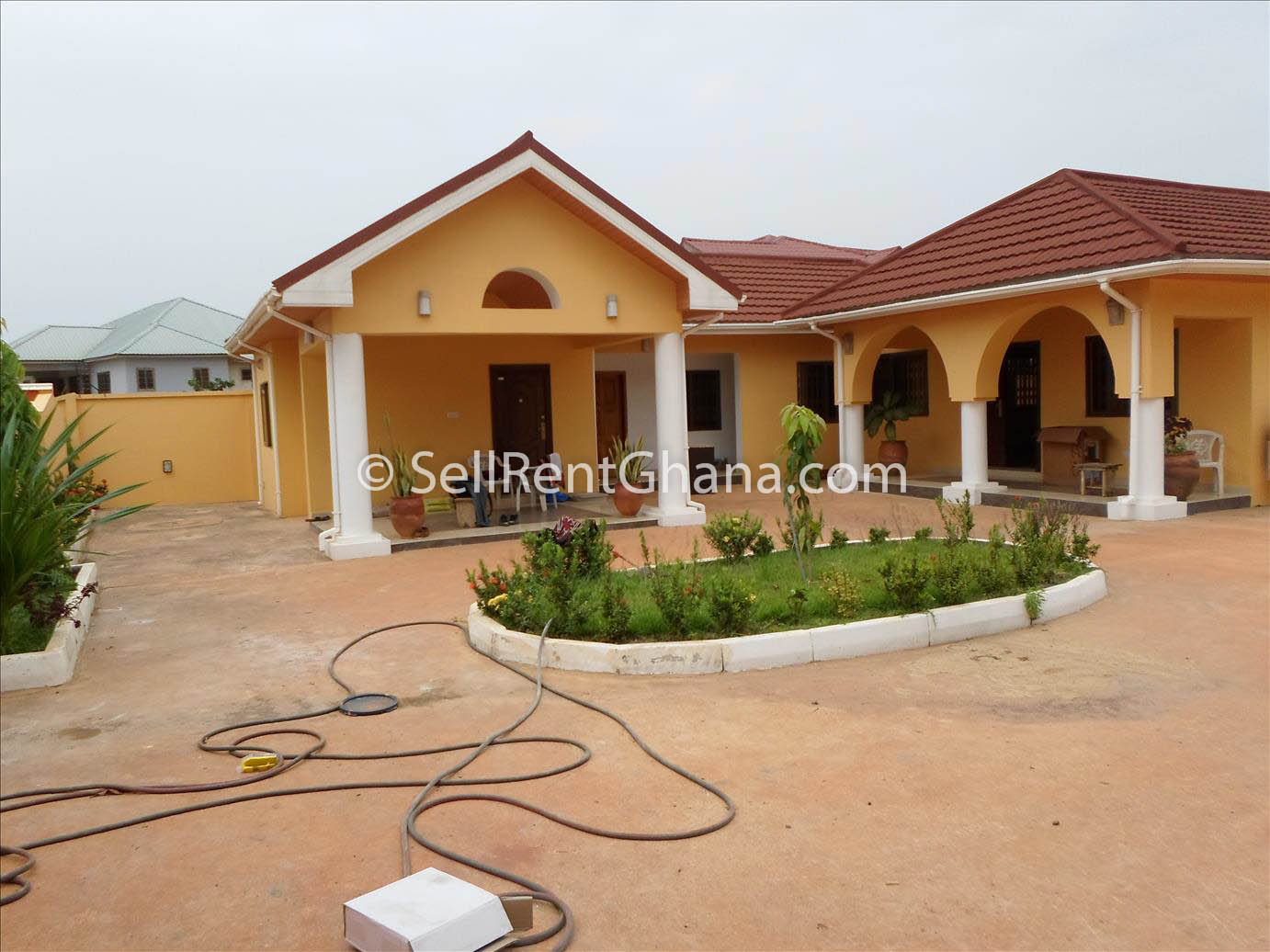 6 Bedroom House For Rent In East Legon