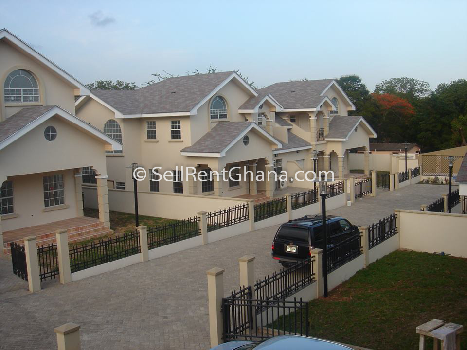 3 Bed Semi Detached Townhouses Cantonments Sellrent Ghana