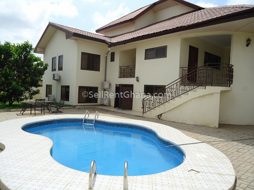 6 bedroom house renting east legon sellrent ghana - Houses with swimming pools for rent ...