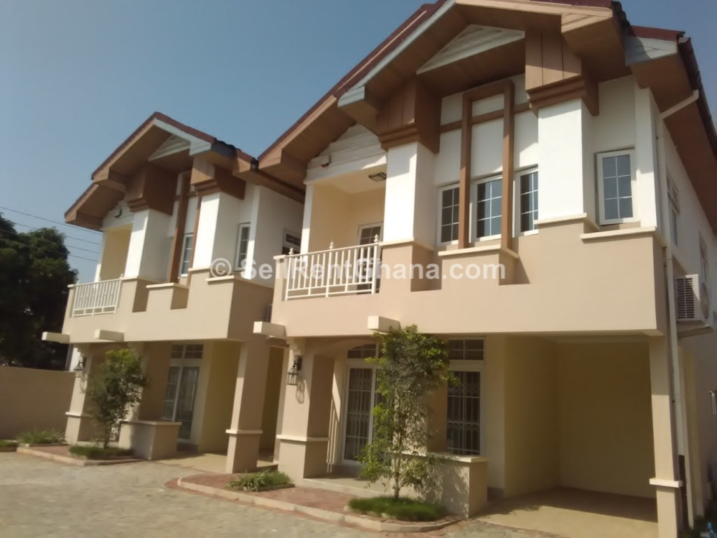 3 bedroom townhouse to let airport residential sellrent ghana for Three bedroom townhomes for rent