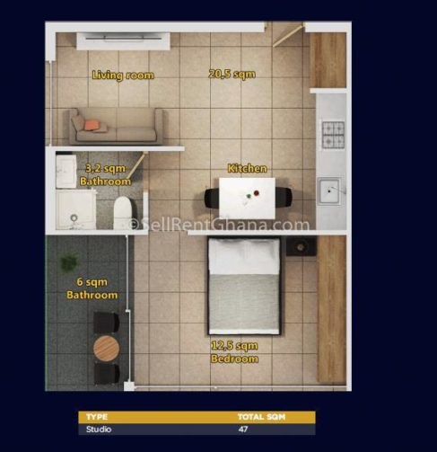 2 To 3 Bedroom Apartments For Rent: 1-3 Bedroom Residential & Commercial Apartments