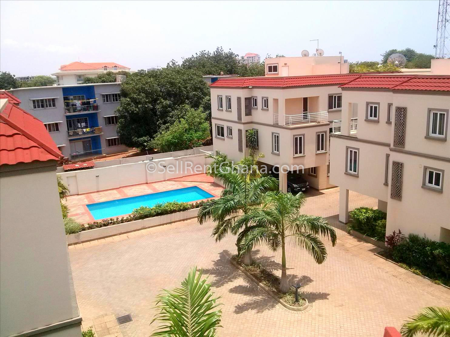 3 bedroom bq townhouse for rent ridge sellrent ghana 17995 | cam01092